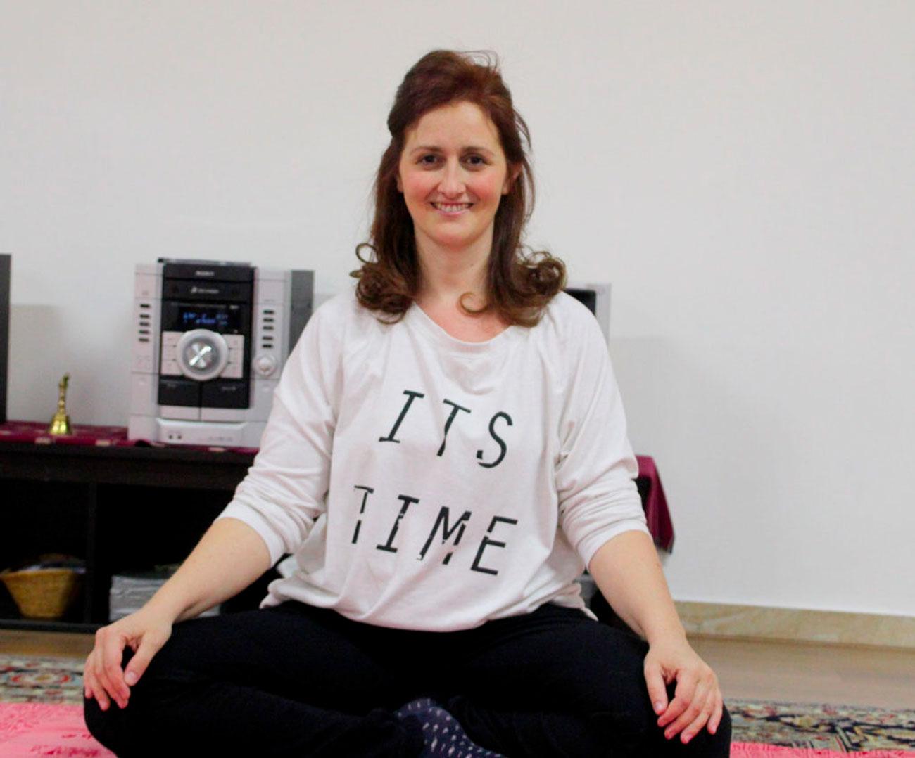 Ilham insegnante yoga a Monza